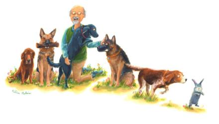 Portrait des maîtres.ses et de leurs animaux n°1